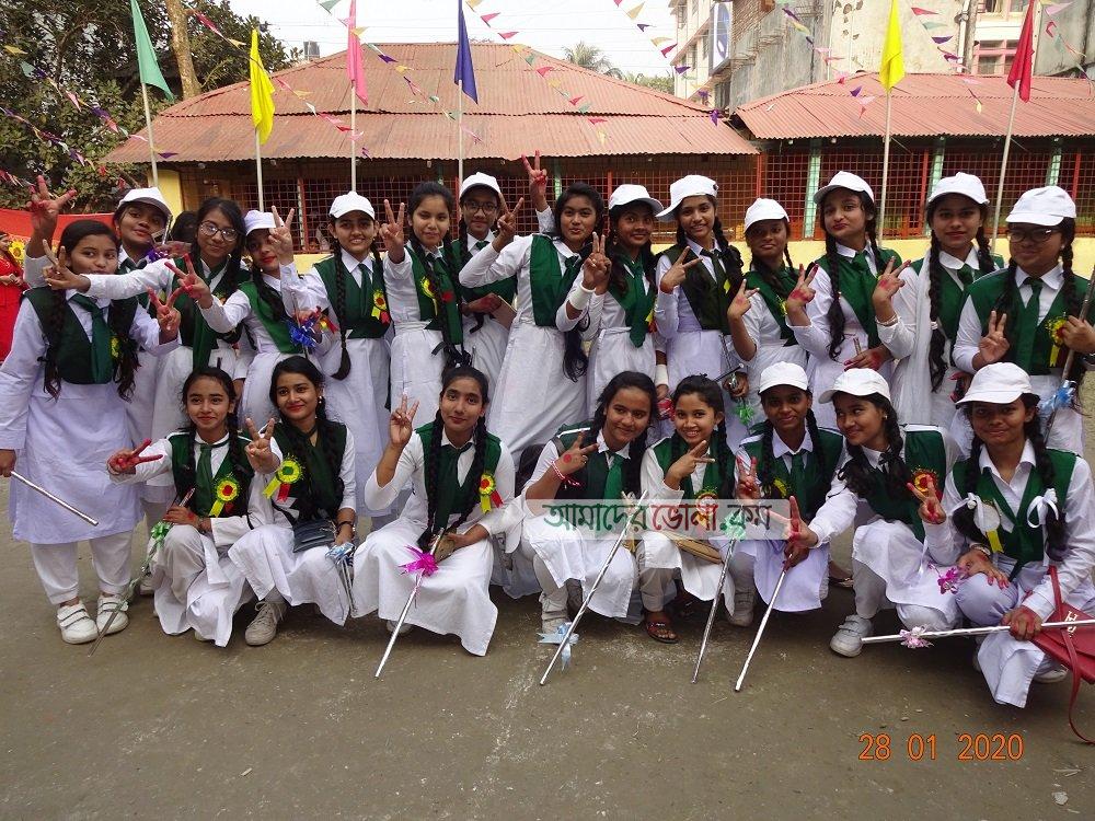 মাছুমা খানম বালিকা বিদ্যালয়ে বার্ষিক ক্রীড়া প্রতিযোগিতা অনুষ্ঠিত
