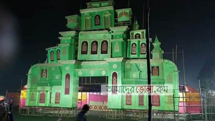 তজুমদ্দিনে অচ্যুতানন্দ ব্রহ্মচারীর তিরোধান উৎসবে লাখ ভক্তের পাদচারণা