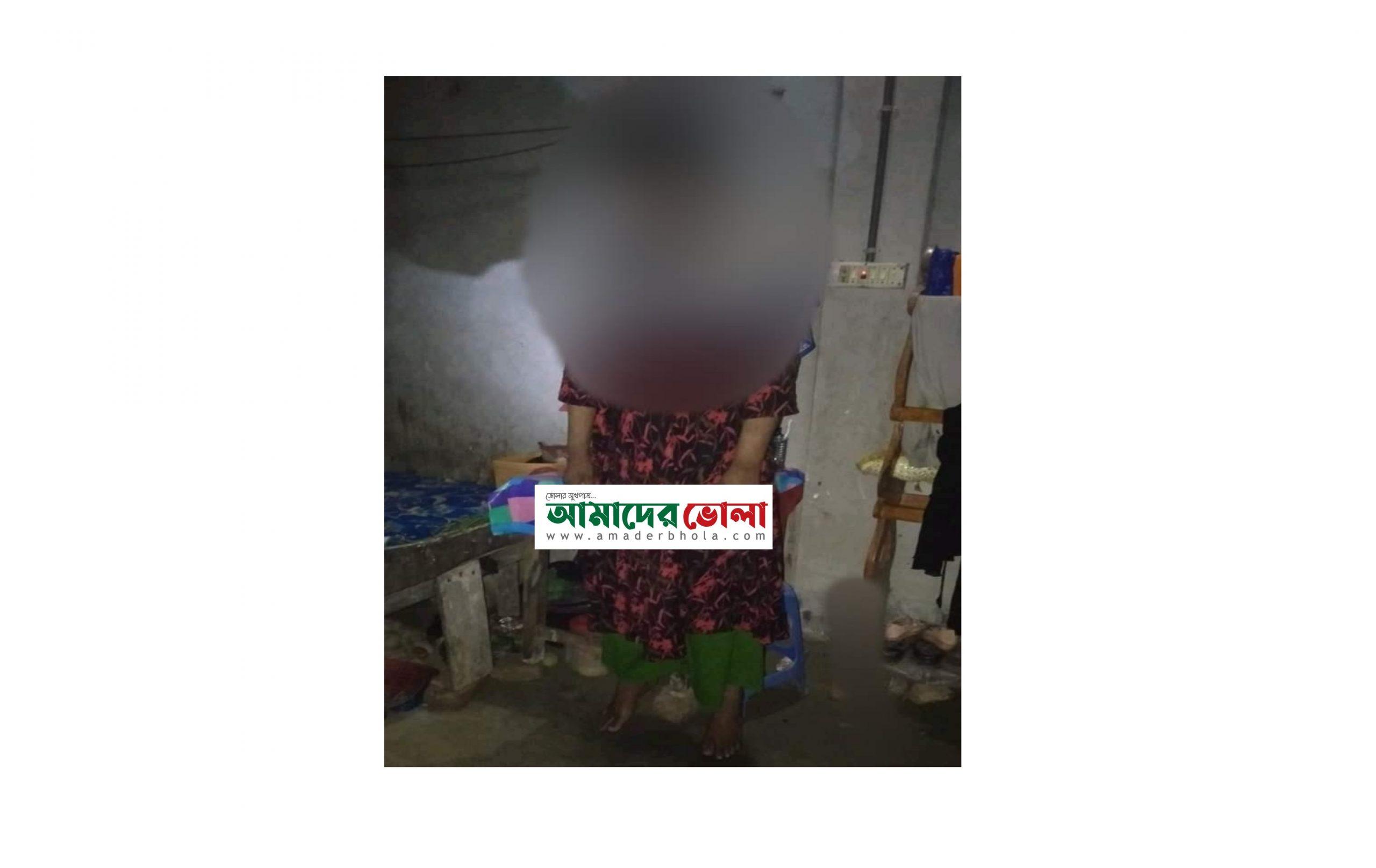 ভোলায় গৃহবধূর ঝুলন্ত লাশ উদ্ধার, পরিবারের দাবী আত্মহত্যা